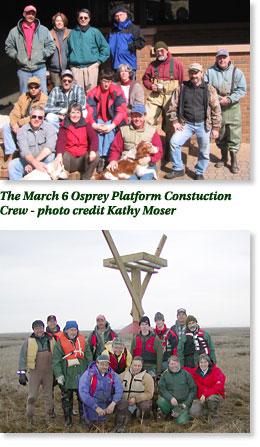 Osprey Platform construction crew