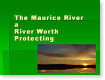 The Maurice River a River Worth Protecting slide