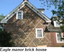 Eagle Manor brick house