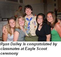 Ryan Dailey, Eagle Scout