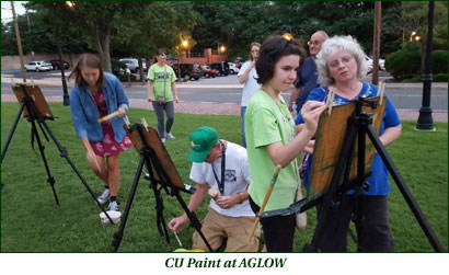 CU Paint at AGLOW