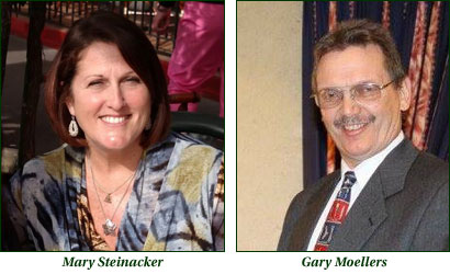 Mary Steinacker and Gary Muellers