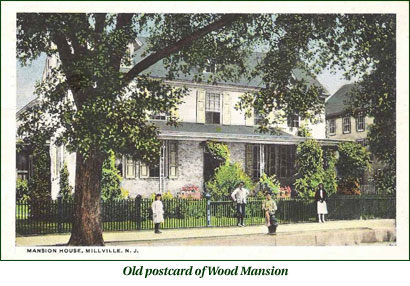 Postcard of Wood Mansion