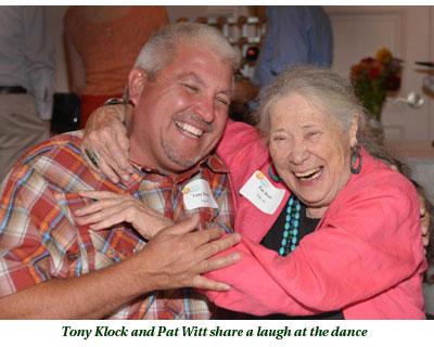 Tony Klock and Pat Witt at dance
