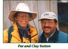 Pat and Clay Sutton