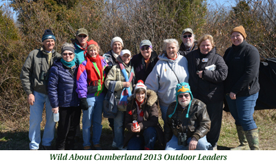 Wild About Cumberland 2014 outdoor leaders