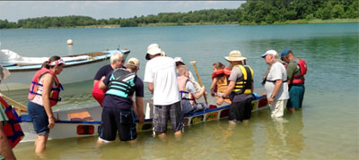 CU Volunteers and Students Float Their Boats