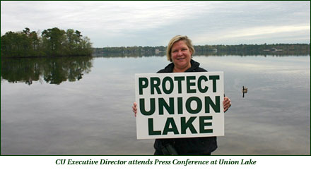 CU Executive Director attends Press Conference at Union Lake