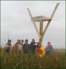 Osprey nest platform