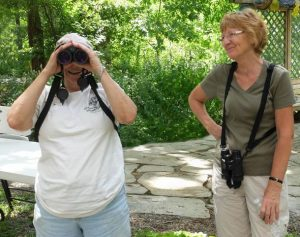 Wendy Walker and Christine Brown