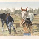 2019 Jost Scholar Emily DelRossi - horses