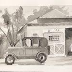 2019 Jost Scholar Emily DelRossi - old car