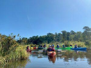 Paddling Muskee Creek